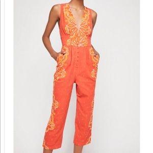 Setting Sun Printed Jumpsuit